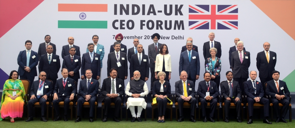 India UK CEO Forum Image Banner