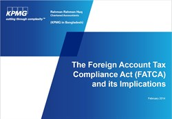FATCA Front Page